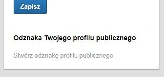 Odznaka profilu na LinkedIn