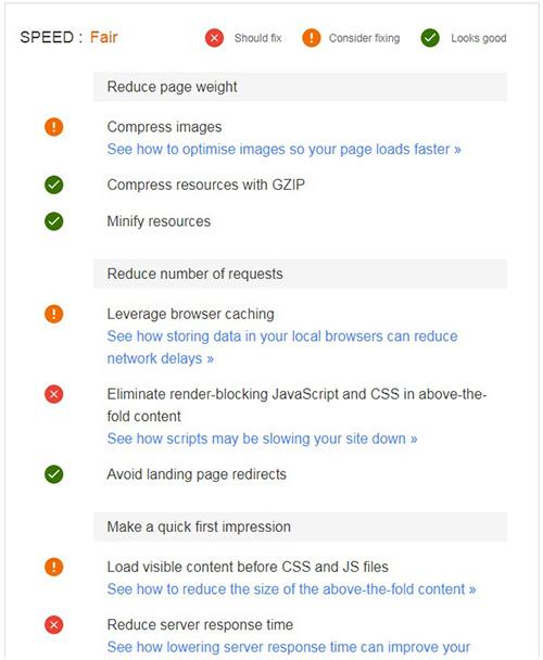 raport mailowy tester stron mobilnych