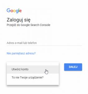 login konto google